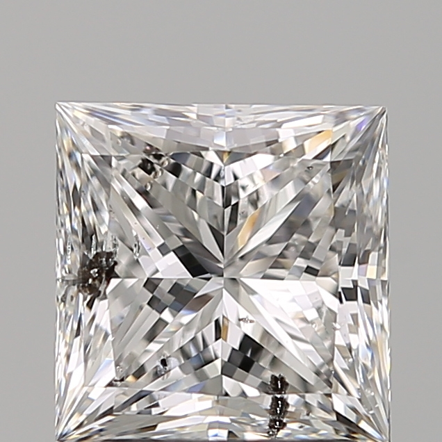 2.01 Carat Princess Loose Diamond, E, I1, Super Ideal, GIA Certified