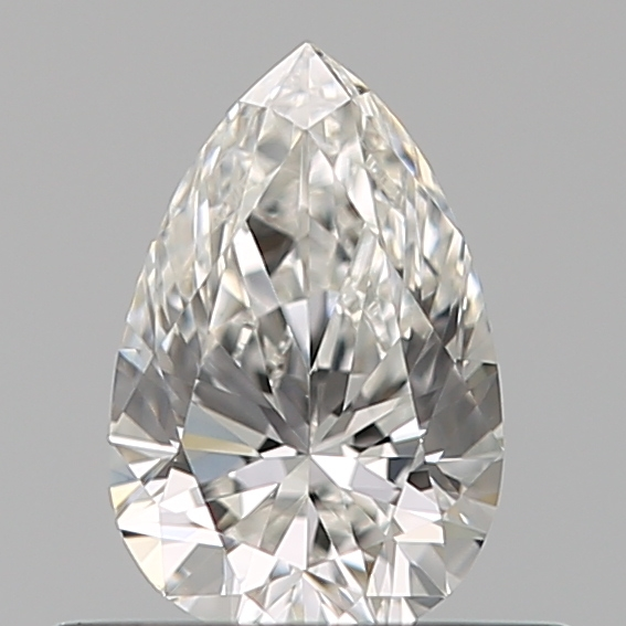 0.40 Carat Pear Loose Diamond, F, VS1, Ideal, GIA Certified | Thumbnail