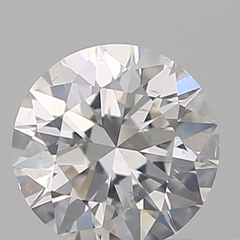 0.30 Carat Round Loose Diamond, F, SI2, Ideal, GIA Certified