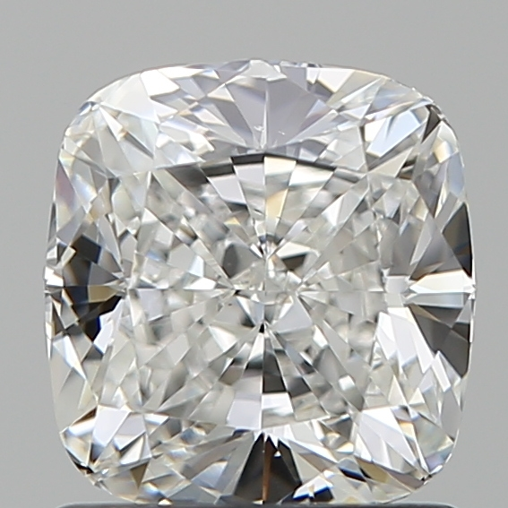 1.20 Carat Cushion Loose Diamond, F, VS2, Super Ideal, GIA Certified