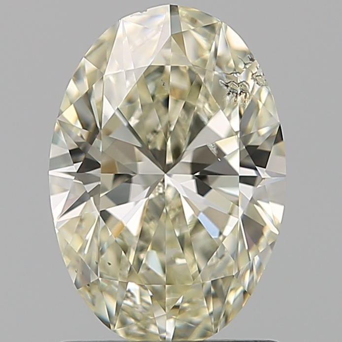 1.20 Carat Oval Loose Diamond, N, I1, Super Ideal, GIA Certified
