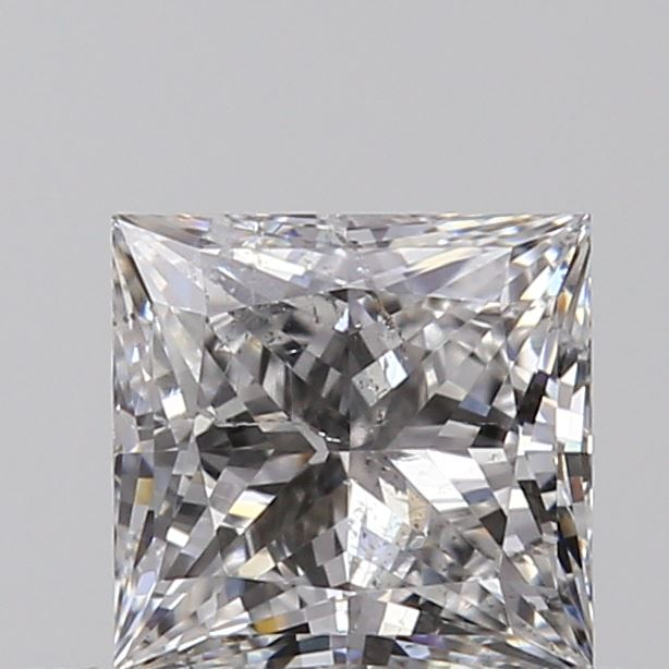 0.41 Carat Princess Loose Diamond, E, SI2, Super Ideal, GIA Certified