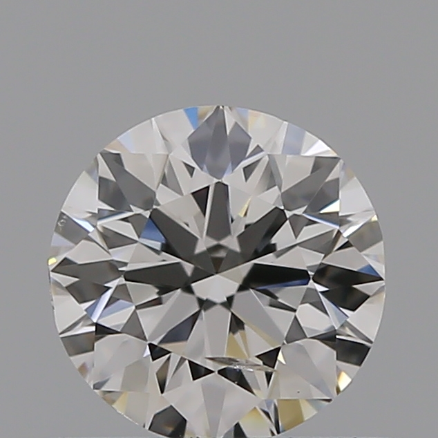 0.50 Carat Round Loose Diamond, I, SI2, Ideal, GIA Certified