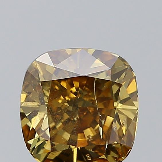 1.51 Carat Cushion Loose Diamond, FANCY, I1, Ideal, GIA Certified