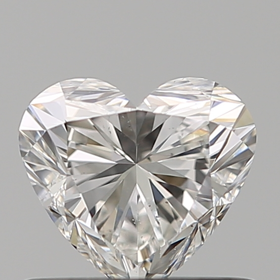 0.51 Carat Heart Loose Diamond, H, VS2, Super Ideal, GIA Certified | Thumbnail