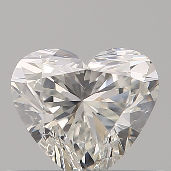 0.35 Carat Heart Loose Diamond, H, SI1, Super Ideal, GIA Certified | Thumbnail