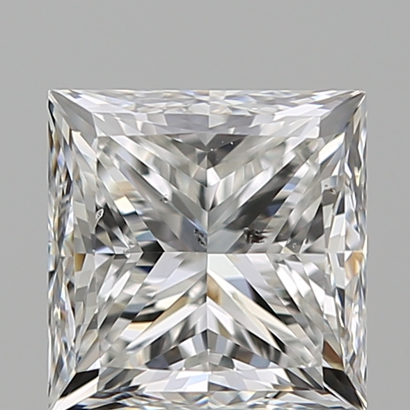 1.20 Carat Princess Loose Diamond, F, SI2, Good, GIA Certified