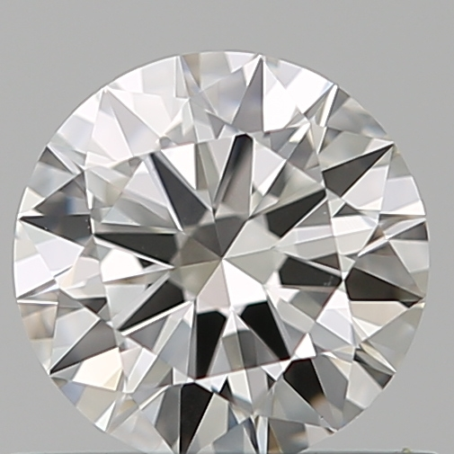 0.50 Carat Round Loose Diamond, I, VVS2, Excellent, GIA Certified | Thumbnail