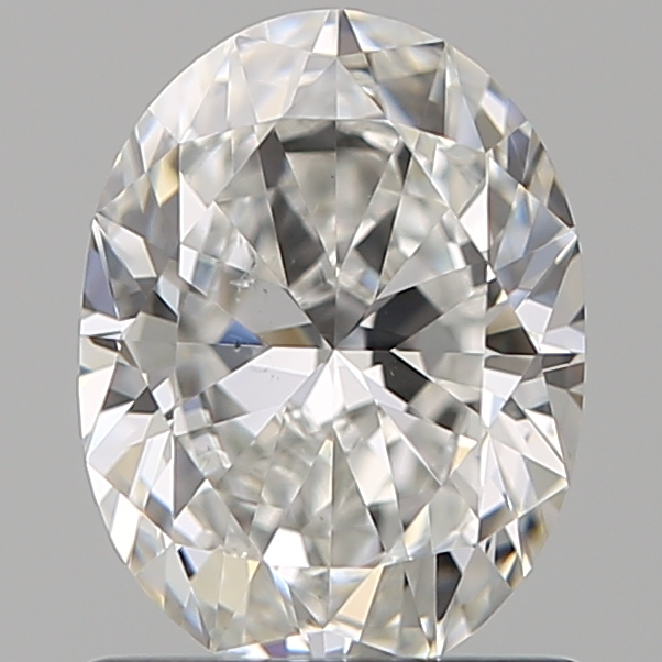 1.00 Carat Oval Loose Diamond, F, SI1, Super Ideal, GIA Certified