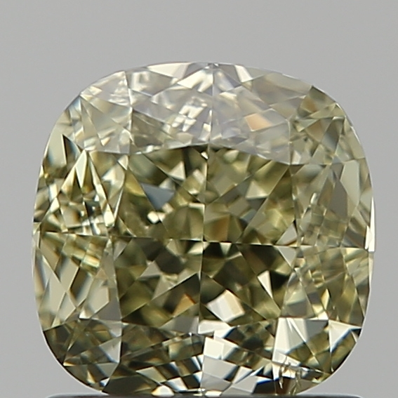 1.15 Carat Cushion Loose Diamond, FANCY, SI1, Ideal, GIA Certified