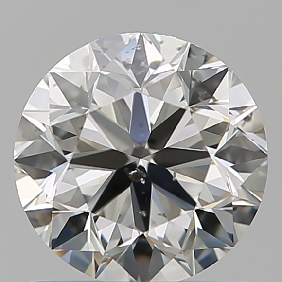 1.01 Carat Round Loose Diamond, H, SI2, Excellent, GIA Certified
