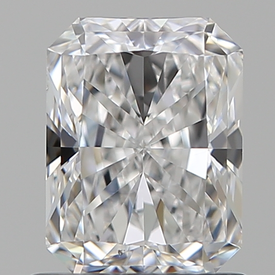 1.02 Carat Radiant Loose Diamond, D, VS2, Super Ideal, GIA Certified
