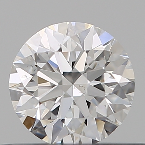 0.32 Carat Round Loose Diamond, E, VS2, Super Ideal, GIA Certified