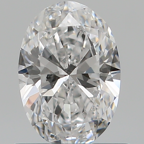 0.59 Carat Oval Loose Diamond, D, VVS1, Ideal, GIA Certified