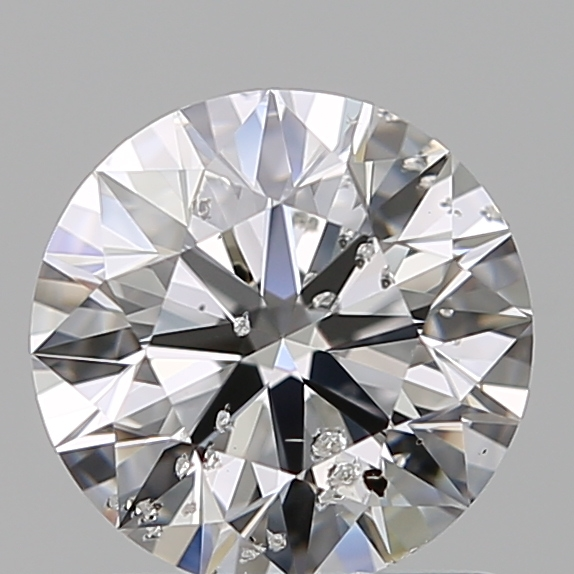 1.01 Carat Round Loose Diamond, D, I1, Super Ideal, GIA Certified