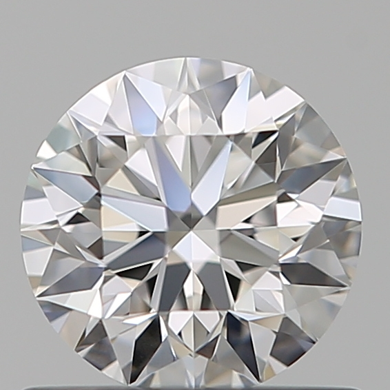 0.63 Carat Round Loose Diamond, E, VVS1, Super Ideal, GIA Certified