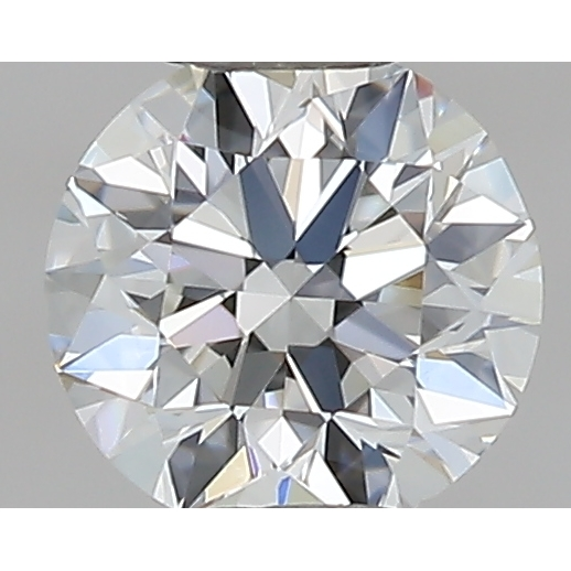0.30 Carat Round Loose Diamond, H, VS2, Excellent, GIA Certified