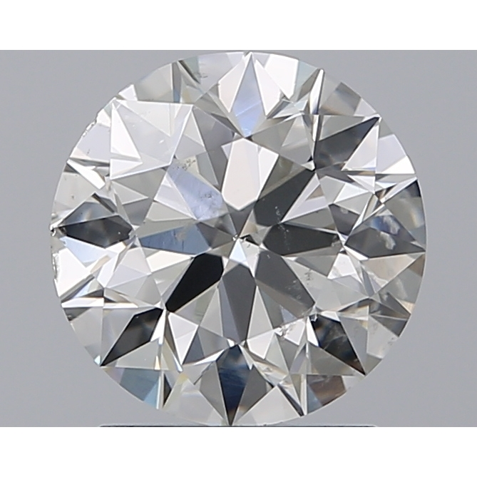 1.59 Carat Round Loose Diamond, I, SI1, Super Ideal, GIA Certified