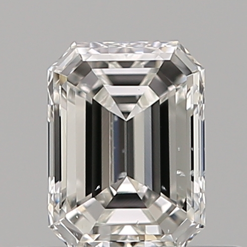 0.37 Carat Emerald Loose Diamond, F, SI1, Excellent, GIA Certified
