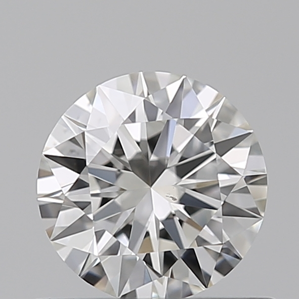 0.46 Carat Round Loose Diamond, I, VS2, Ideal, GIA Certified