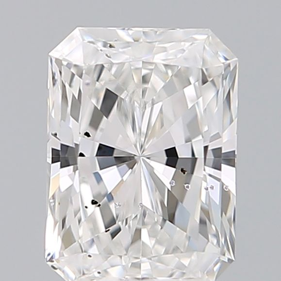 0.50 Carat Radiant Loose Diamond, E, SI2, Excellent, GIA Certified