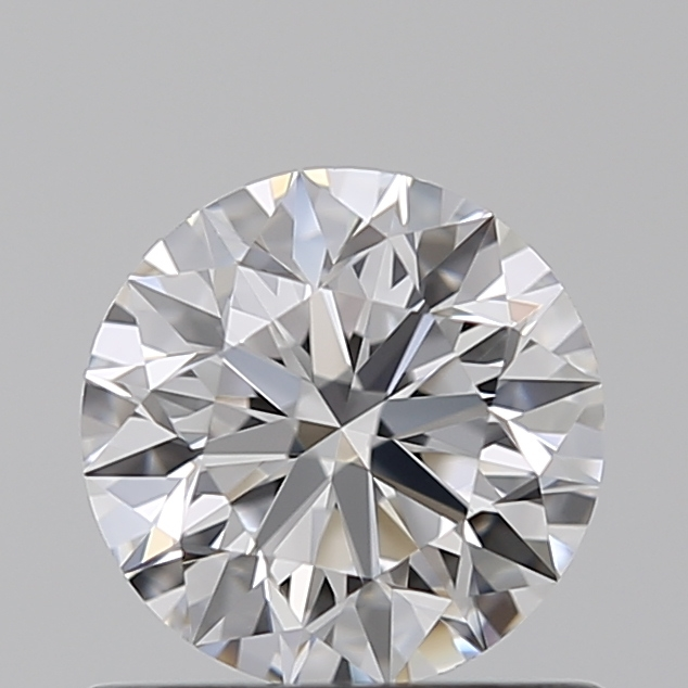 0.64 Carat Round Loose Diamond, D, IF, Super Ideal, GIA Certified