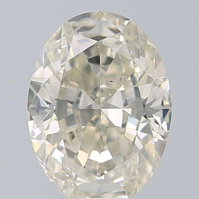 1.01 Carat Oval Loose Diamond, L, SI1, Super Ideal, GIA Certified | Thumbnail