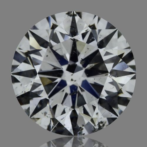 3.01 Carat Round Loose Diamond, D, SI2, Super Ideal, GIA Certified