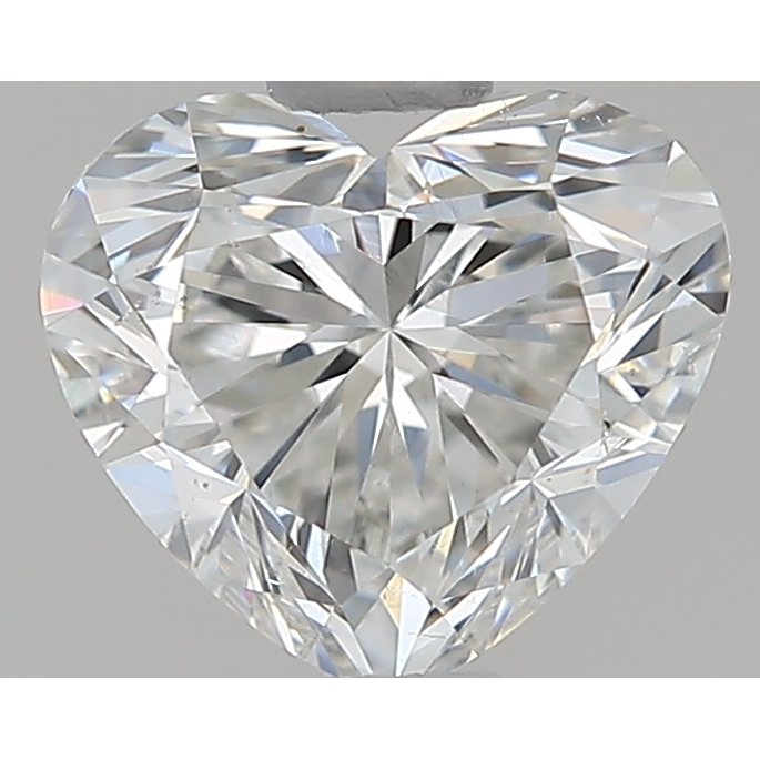 0.71 Carat Heart Loose Diamond, G, VS2, Ideal, GIA Certified