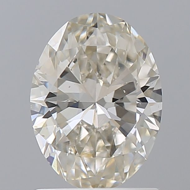 1.02 Carat Oval Loose Diamond, K Faint Brown, SI1, Super Ideal, GIA Certified | Thumbnail