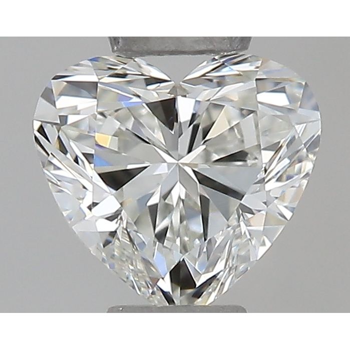 0.30 Carat Heart Loose Diamond, I, IF, Ideal, GIA Certified