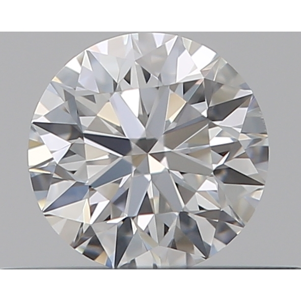 0.31 Carat Round Loose Diamond, E, IF, Super Ideal, GIA Certified