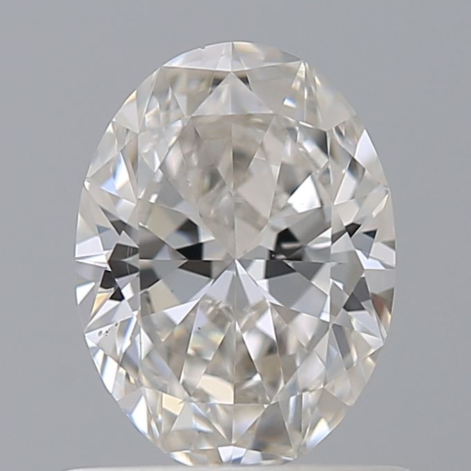 0.64 Carat Oval Loose Diamond, I, VS2, Super Ideal, GIA Certified