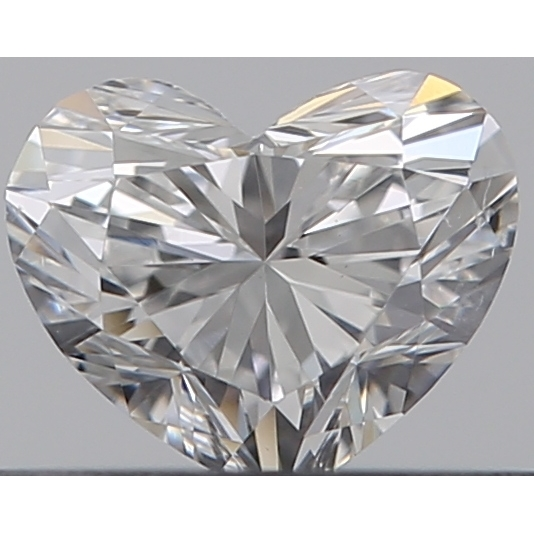 0.30 Carat Heart Loose Diamond, F, SI1, Super Ideal, GIA Certified | Thumbnail