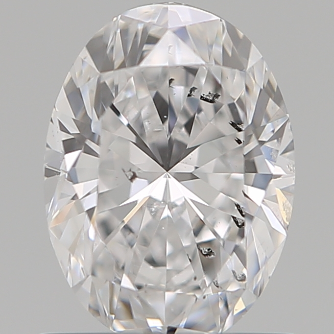 0.80 Carat Oval Loose Diamond, D, SI2, Super Ideal, GIA Certified
