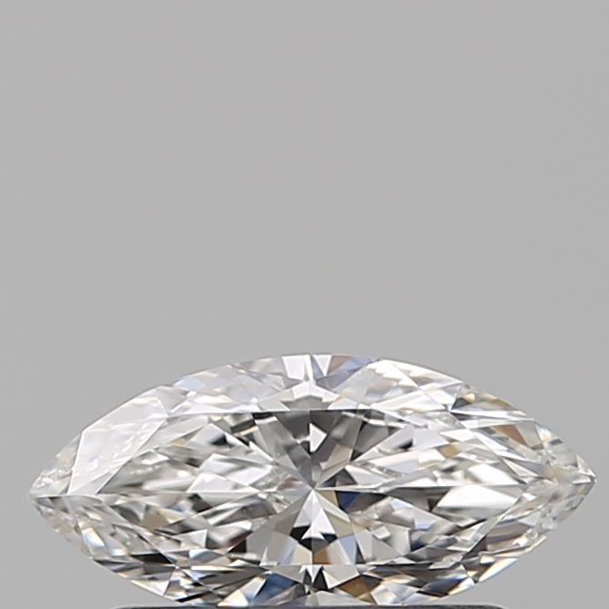 0.40 Carat Marquise Loose Diamond, F, VVS2, Ideal, GIA Certified