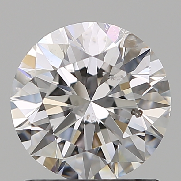 1.01 Carat Round Loose Diamond, D, SI1, Super Ideal, GIA Certified