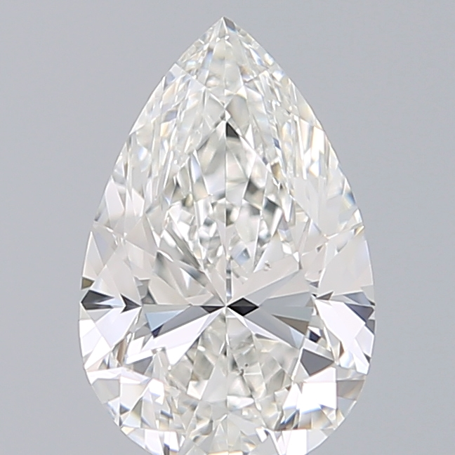 0.80 Carat Pear Loose Diamond, G, VS2, Super Ideal, GIA Certified