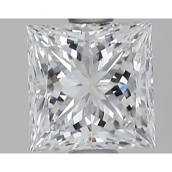 2.05 Carat Princess Loose Diamond, D, SI1, Super Ideal, GIA Certified