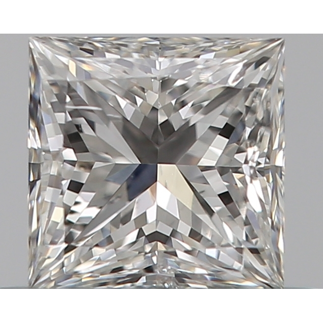 0.38 Carat Princess Loose Diamond, D, VS2, Ideal, GIA Certified | Thumbnail