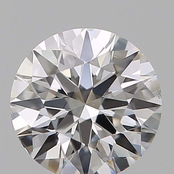 0.46 Carat Round Loose Diamond, F, VS1, Super Ideal, GIA Certified