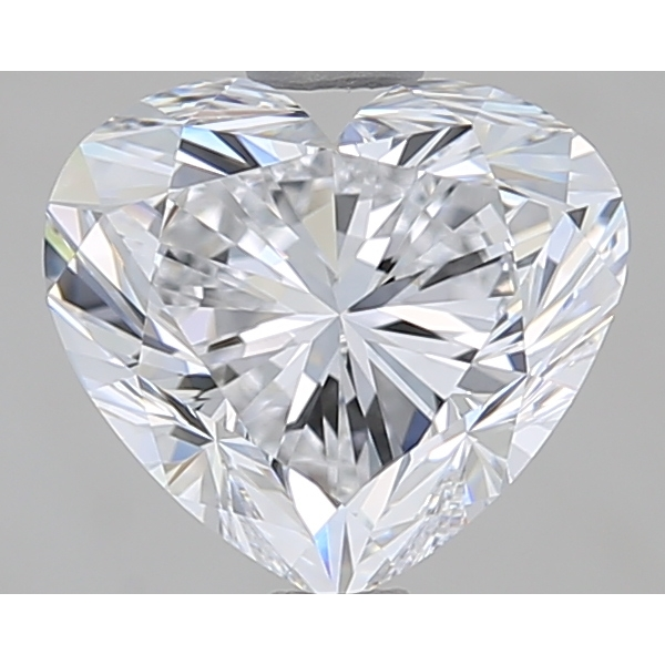 1.80 Carat Heart Loose Diamond, D, VVS2, Super Ideal, GIA Certified