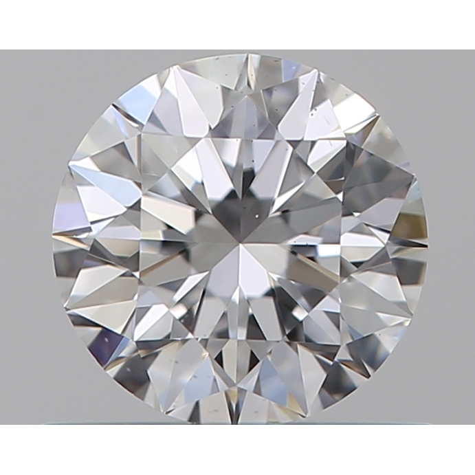 0.50 Carat Round Loose Diamond, D, VS2, Super Ideal, GIA Certified | Thumbnail