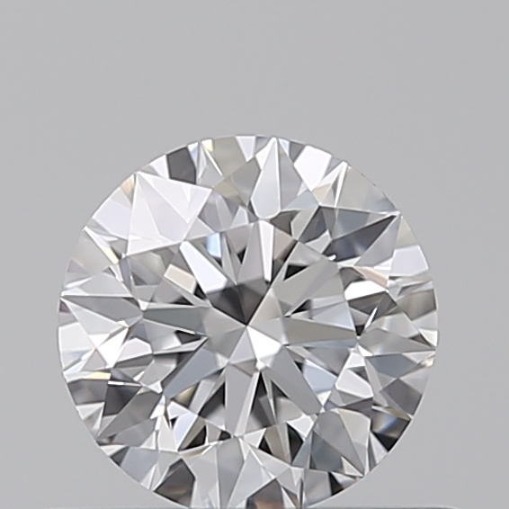 0.42 Carat Round Loose Diamond, D, IF, Super Ideal, GIA Certified