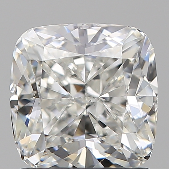 1.36 Carat Cushion Loose Diamond, H, VS2, Super Ideal, GIA Certified