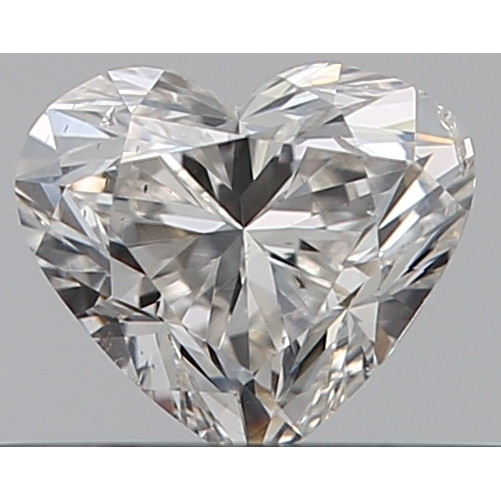 0.30 Carat Heart Loose Diamond, H, SI2, Excellent, GIA Certified