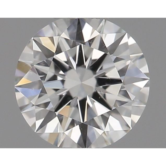 0.33 Carat Round Loose Diamond, G, VS1, Super Ideal, GIA Certified
