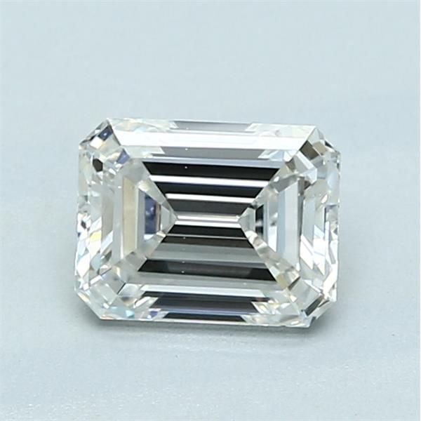 1.01 Carat Emerald Loose Diamond, G, VS2, Ideal, GIA Certified | Thumbnail