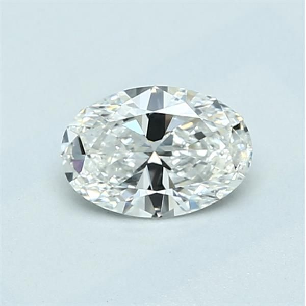 0.50 Carat Oval Loose Diamond, G, IF, Ideal, GIA Certified
