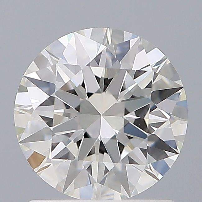 1.07 Carat Round Loose Diamond, H, VVS2, Super Ideal, GIA Certified